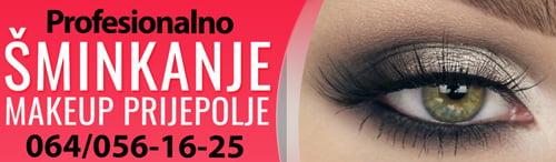 Šminkanje - Makeup Prijepolje